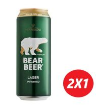 BEAR BEER LAGER 2X1